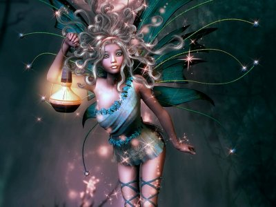 Échantillons de fées et d'elfes...