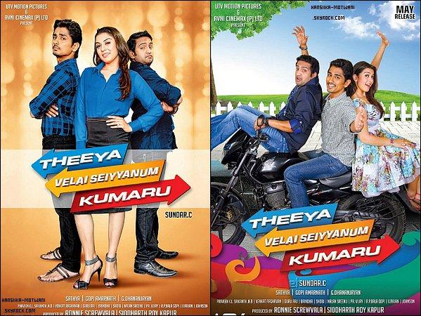 Theeya Velai Seiyyanum Kumaru poster + Settai poster