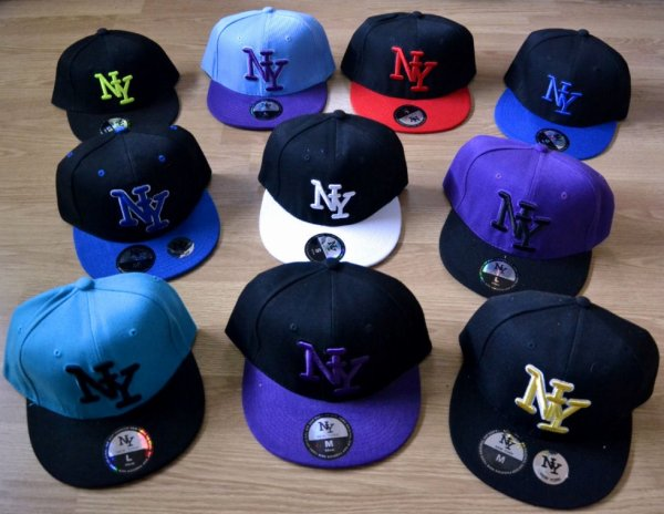 Casquettes NY à 15¤