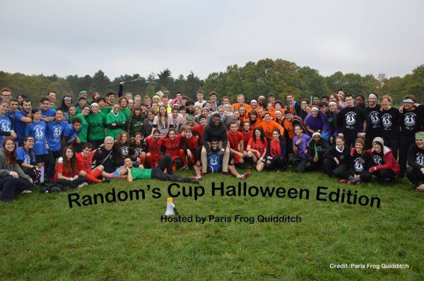 "Le Premier Tournoi de Quidditch organisé à Paris ""The Random's Cup"""