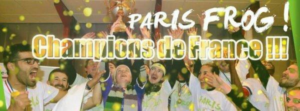 Champion de France !!!