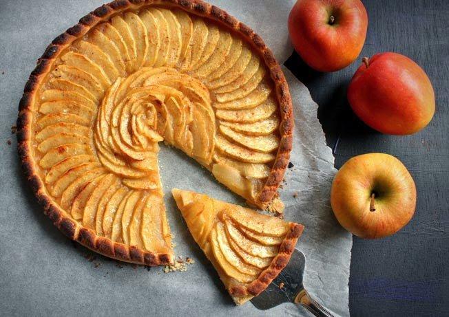 Pâtisserie : Tarte aux pommes (n°2).