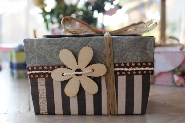 boites de chocolats décorées