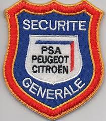 pompiers privés des usines PSA Peugeot-Citroën