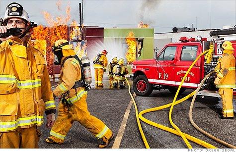 pompier volontaire Disney USA