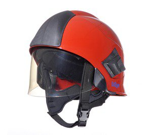 Production of Dräger fire fighting helmets