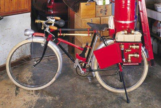 Vélo de pompier