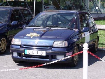 Exposition de la Clio chez Renault M.S.A à Lisieux