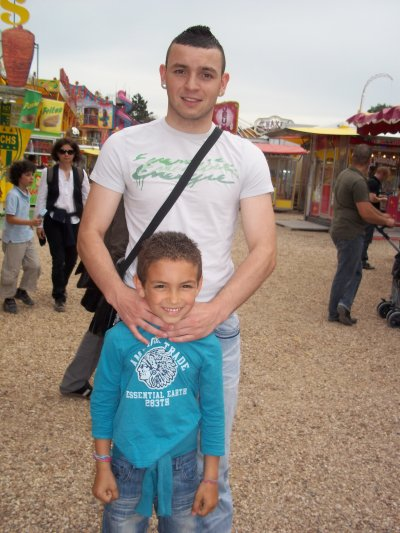 Moi & mon petit neveux  Kesky'A !!!