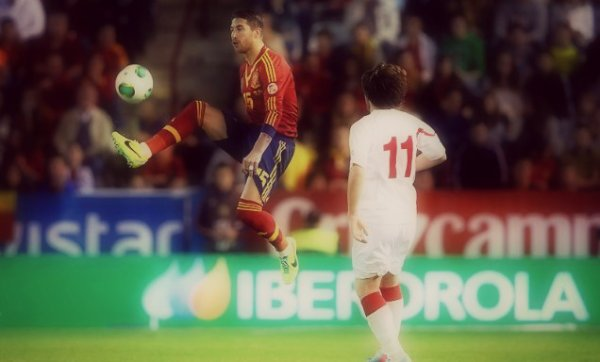 15 octobre 2013 « Sergio Ramos España vs Georgia