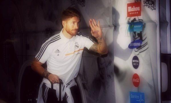 18 octobre 2013 « Sergio Ramos partant à l'hôtel