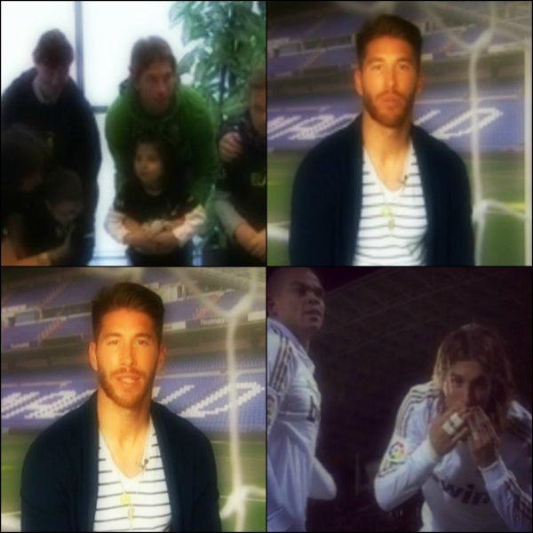 18 octobre 2013 « Sergio Ramos laisse un message de soutien pour Mateo