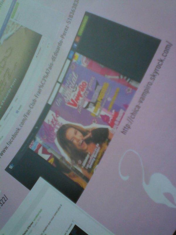 Mon. Blog afficher dans le nouveau magazine chica vampiro