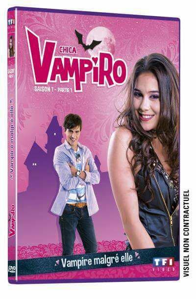Les deux premiers dvd de chica vampiro saison 1 partie et partie 2 sortiront le 3 mai 2016