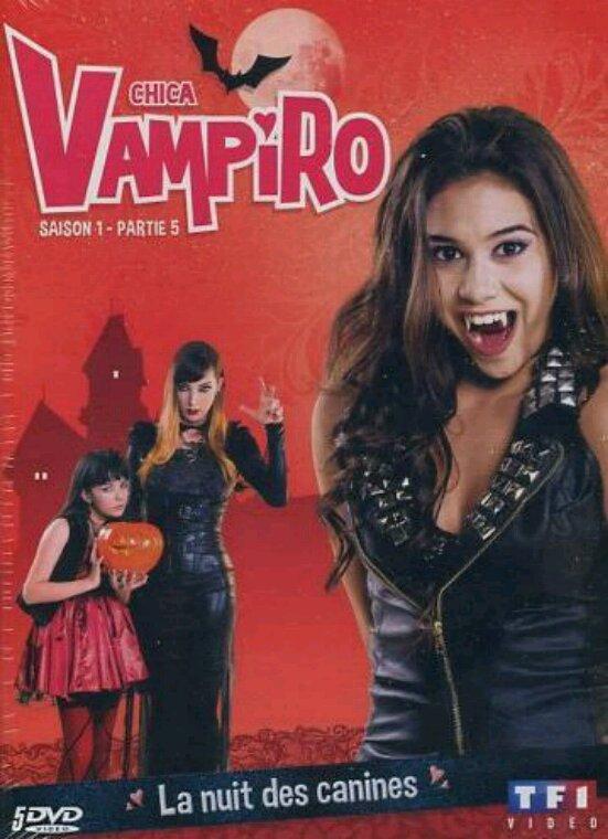 Voici les deux derniers dvd de chica vampiro