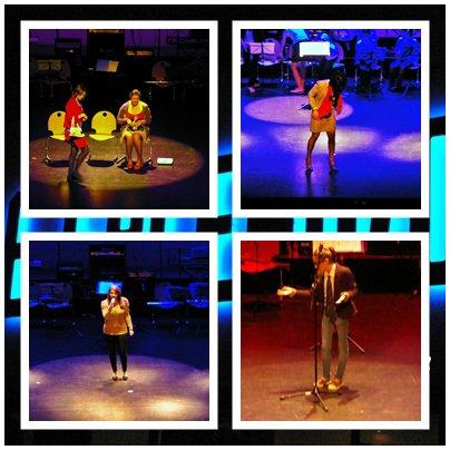 Spectacle du Lycée Collége 2012...Bravo les Artistes!! Méli Mélo en images par moi!