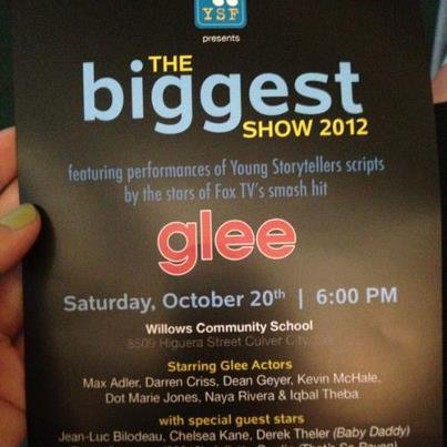 The beggest show 2012 ! Glee