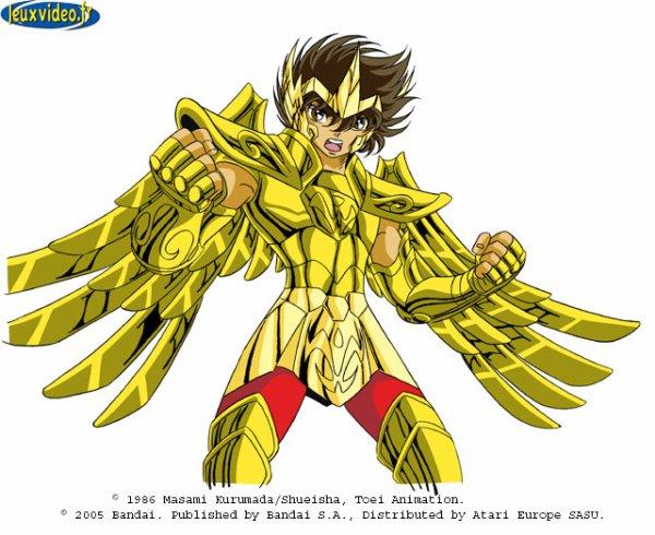 SEIYA : armure d'or