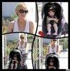 Sarah && Charlotte aperçut dans les rues de Los Angeles.