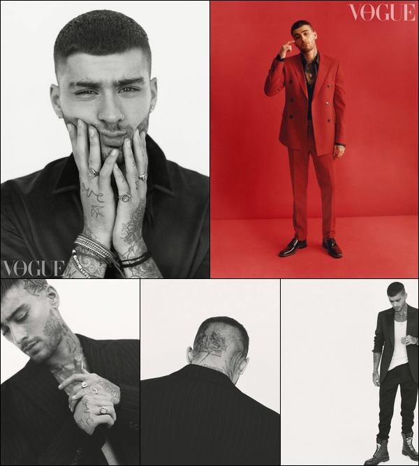 . Découvrez le photoshoot de Zayn pour le magazine «Vogue British » de Décembre .