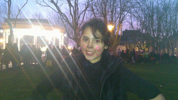 Moi avant le carnaval