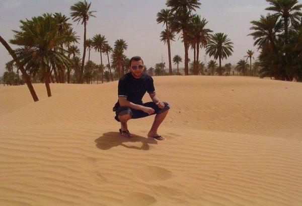 Oasis au desert Algérien