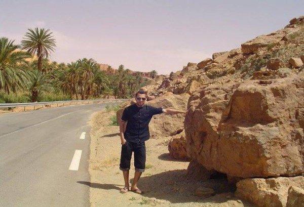 Village ou desert (Algérie)