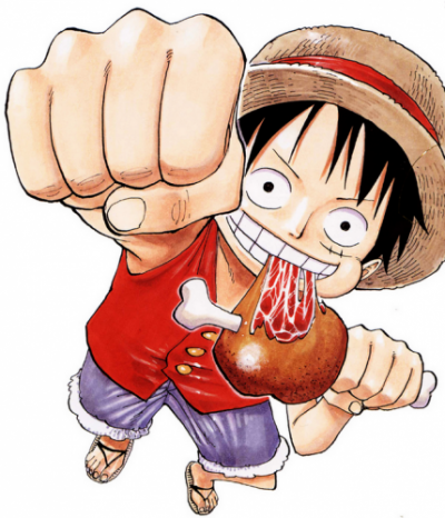Admiration : images de Luffy !