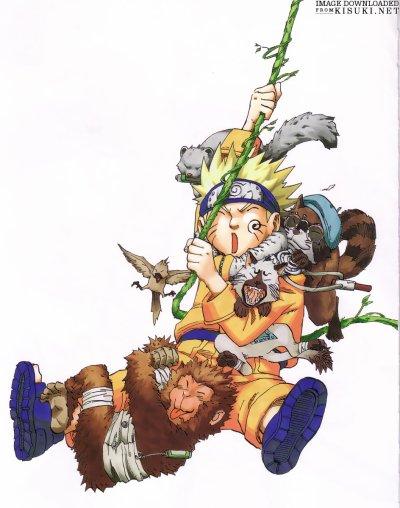 Admiration : images de Naruto !