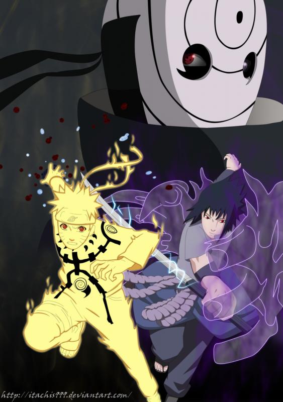 Naruto VS Sasuke - Chapitre 28 -Kabuto, l'âme d'Orochimaru-   En Cours