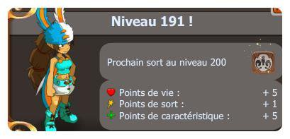 Article n°3 : up 191 et achats/craft de 2 items