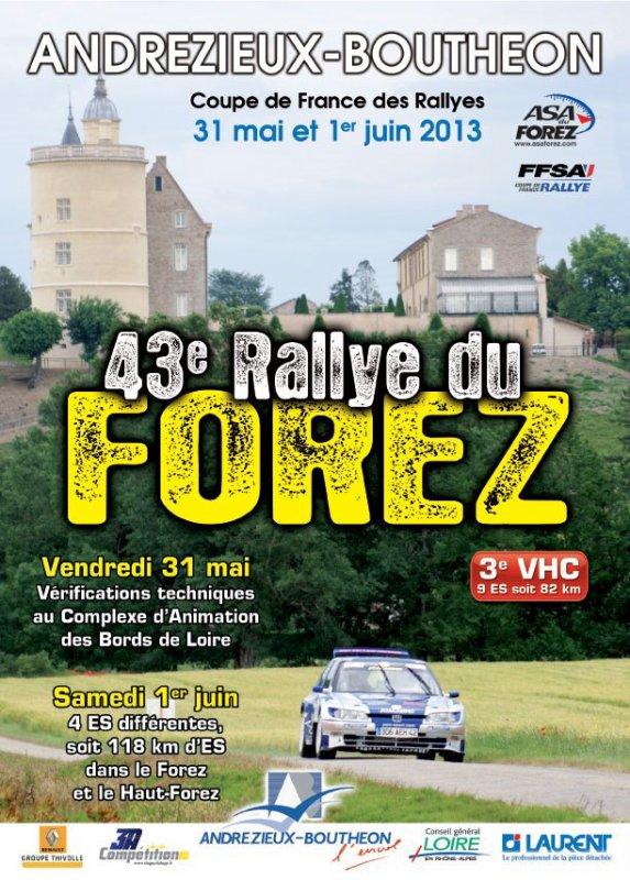 43éme Rallye Du Forez