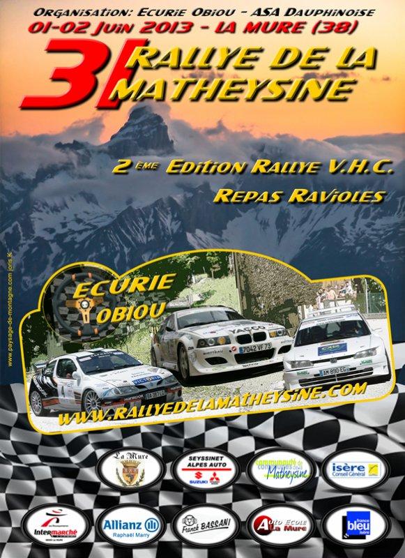 Rallye de la Matheysine 2013