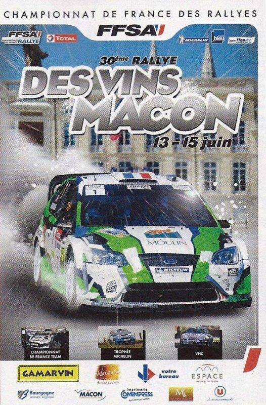 Rallye Des Vins Macon 2013