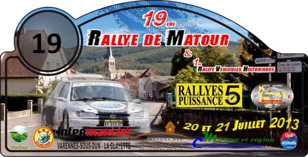 19 éme Rallye de Matour 2013