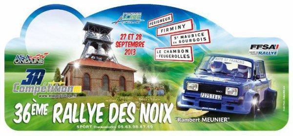 Rallye des Noix 2013