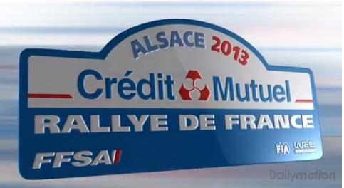 Rallye de france Alsace 2013