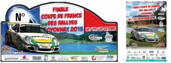 Finale coupe de france des rallyes 2013