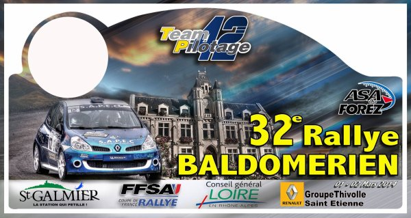 32 éme Rallye Du Baldomérien 2014