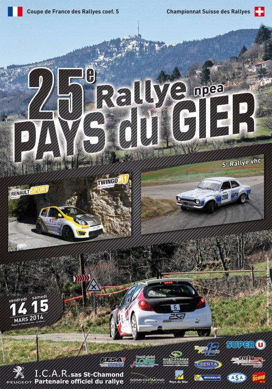 25 éme Rallye Pays du Gier 2014