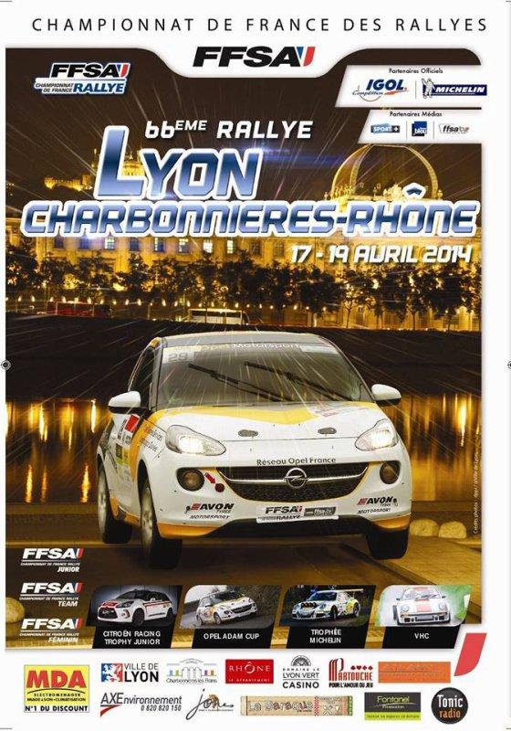 66éme Rallye Lyon Charbonnieres :-)