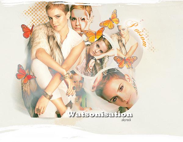 Emma pour Marie-ClaireC'est l'hiver sur Watsonisation !