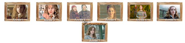 Hermione Granger :  Parce qu'elle est un peu aussi notre soeur à tous,elle va me manquer