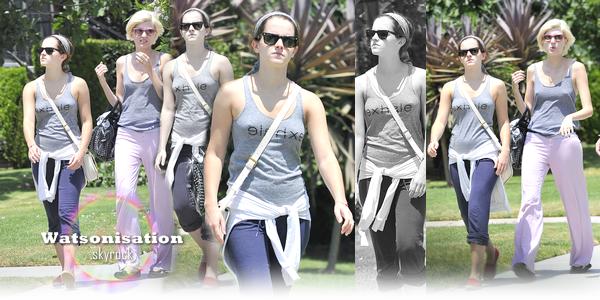 Emma à Santa Monica ce 29 juillet :