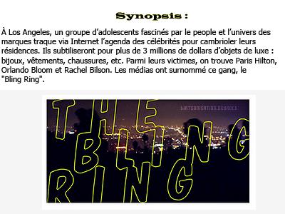 Fiche film : The Bling Ring« Les suspects portaient des Louboutin »