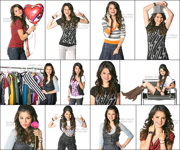 . Année 2007 : Nouveau photoshoot de Selena.G. Cette fois-ci elle passe sous l'objectif de Rena Durham.