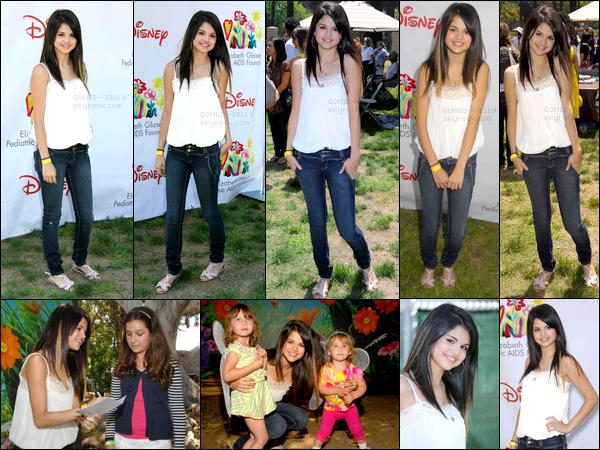 . 08/06/08 - Selena Gomez a été aperçue à l'événement A Time For Heroes. Un gros coup de coeur pour son look..