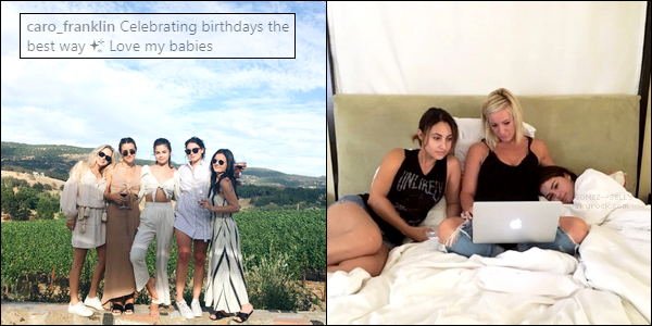 Selena est en train de profiter d'un road-trip avec ses amies, découvrez-en des photos !  [/alig fen]
