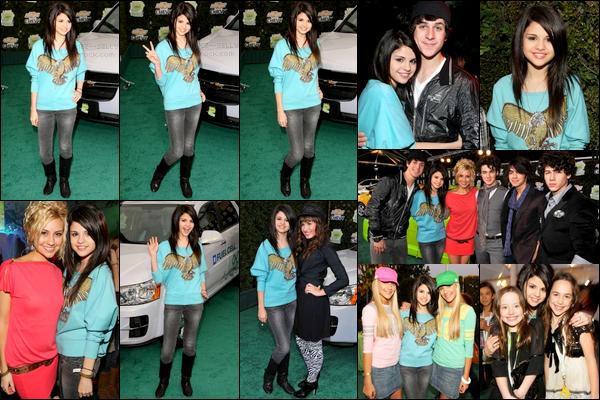 . 19/02/08 - Selena Gomez était avec d'autres stars Disney comme Demi ou David.H au Chevy Rocks The Future..