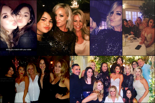 Selena, Mandy, Brian, et ses amies sont réunies pour fêter l'anniversaire de leur amie Francia Raisa ![/alig fen]